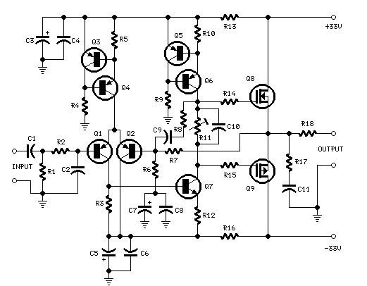 25 Watts Mosfet Amplifier Archives Amplifier Circuit Design