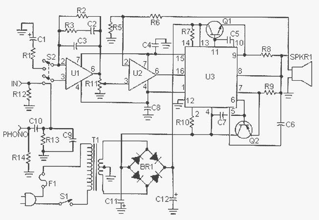 mp3-player-circuit-diagram images - frompo