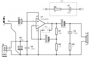 10 watt power amplifier