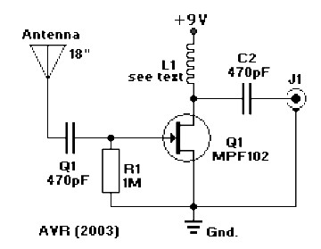 antena boster archives amplifier circuit design With active fm antena