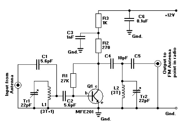 fm amplifier circuit archives