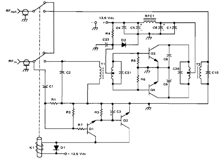 sciencemadness discussion board microcontrollers the amateuramateur radio linier amplifier schematic this circuit uses two