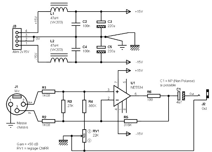 dynamic microphone preamp schematic wire data schema u2022 rh sellfie co Electret Microphone Preamp Schematic Electret Microphone Preamp Schematic