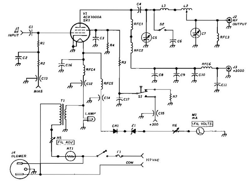 1 watt tube guitar amp schematic  1  get free image about