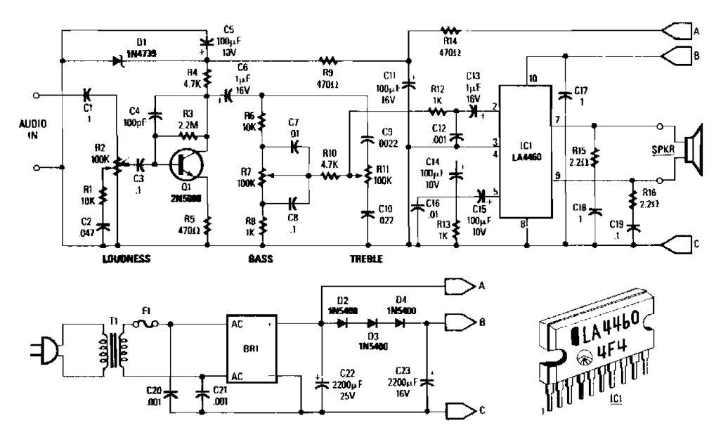 5 watt audio amplifier archives