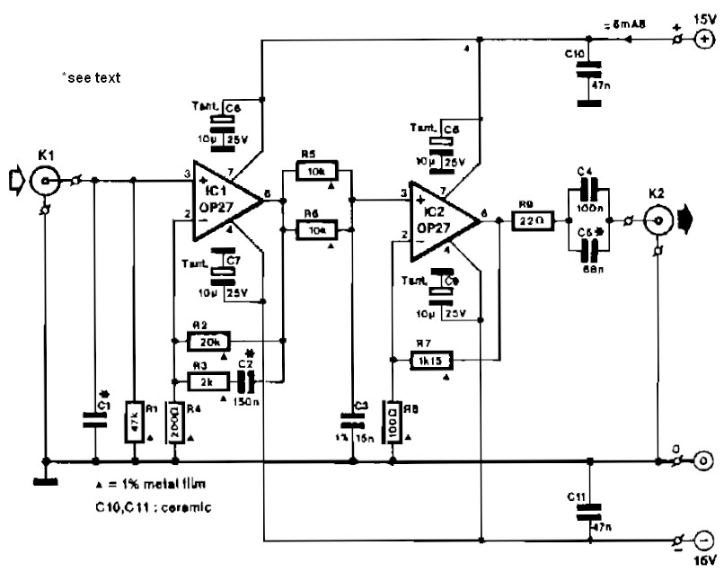 Preamplifier For Magnetic Phono Cartridges