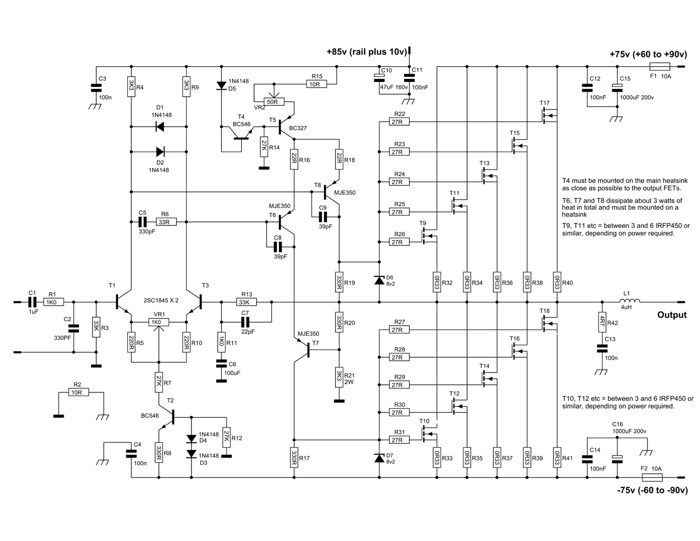 Audio Amplifier Archives Page 2 Of 25 Circuit Design How To Build Your Own 10watt Power Using An Ic Tda 2003
