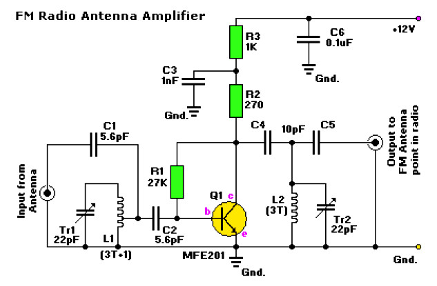 amplifier circuit design