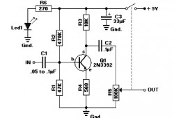 9 Volt Transistor  lifier Audio on wiring diagram of booster amplifier